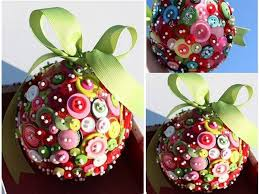 diy tree decoration made from buttons find