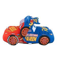 disney pixar cars 3 large transforming plush car lightning