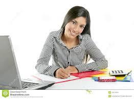 femme de bureau écriture de secrétaire de bureau de femme d affaires photo
