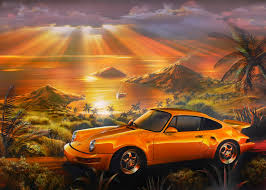 car wallpapers wall murals wallsauce porsche beach wall mural