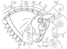 between the lines colouring pages u2013 the eloquent equine