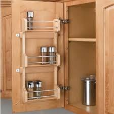 Cabinet Door Mounted Spice Rack Door Mount Spice Racks Rev A Shelf 4sr Series Rockler