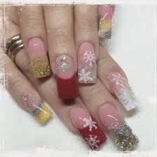 encapsulated nails christmas nails kanije nails pinterest