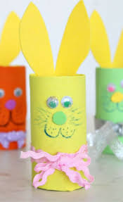 need an easy and safe ester craft to make with kids these toilet