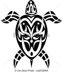 illustration of tribal tattoo turtle eps vector search clip art