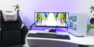 Gaming Desk Setup Computer Desk Computer Desk Set Up Beautiful Techsource Best