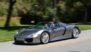 918 spyder porsche price 2015 porsche 918 spyder hybrid supercar fuel economy