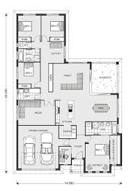 100 u shaped house plans with courtyard house plans with