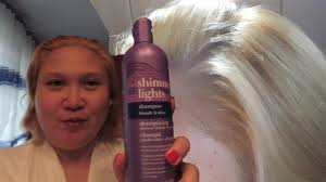 Shimmering Lights Conditioner Toning My Brassy Hair With Clairol Shimmer Lights Purple Shampoo