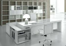 bureau design blanc laqué bureau blanc avec rangement bureau contemporain blanc bureau design