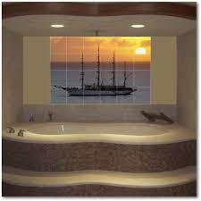 Ceramic Tile Mural Backsplash by Custom Ceramic Glass Marble Tile Murals By Picture Tiles