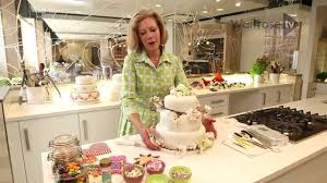 fiona cairns how to decorate your own wedding cake waitrose