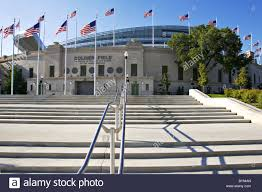 Flag Football Chicago Buildings Chicago Illinois Soldier Field Stock Photos U0026 Buildings