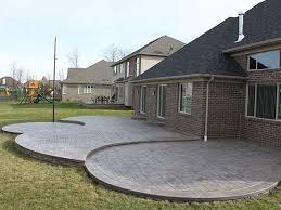 Average Price For Concrete Patio Manificent Decoration Cost For Concrete Patio Beauteous Concrete