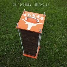 texas giant jenga and carrying case boo pinterest jenga