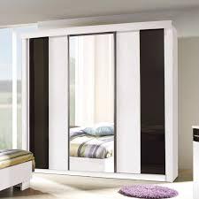 chambre dublin chambre à coucher complète dublin grand modèle coloris blanc noir