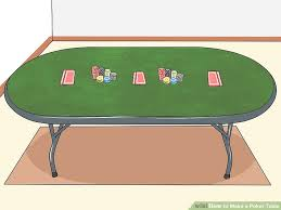 how to build a poker table how to make a poker table 14 steps with pictures wikihow