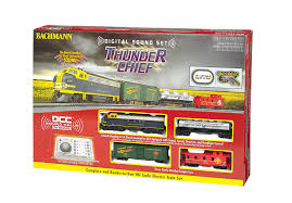 bachmann ho scale thunder chief set w sound 00826 ebay