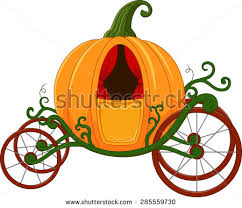 pumpkin carriage stock images royalty free images vectors