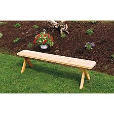 Picnic Benches For Schools Amazon Com Outdoor 2 Foot Cross Leg Pine Picnic Bench Only