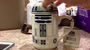 coolest coffee mug ever star wars r2d2 mug youtube