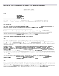 Sample Contract Termination Notice by Termination Letter Templates 26 Free Samples Examples Formats