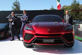 lamborghini jeep lamborghini urus concept makes its first pass at america