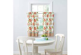 Lemon Kitchen Curtains by Outdoor Patio Curtains Target St Kitts Curtain Panel Geometric