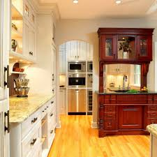 appliance parts depot for a traditional kitchen with a two tone