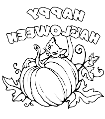 halloween line drawings halloween drawings to print coloring pages kids