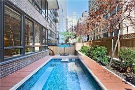 midtown rental near the united nations comes with a private pool