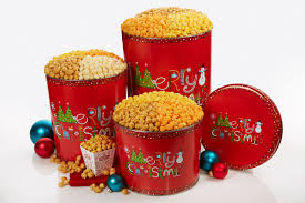 christmas tins 12 days of christmas in july the popcorn factory the popcorn