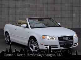 audi a4 2007 convertible used 2007 audi a4 2 0t at saugus auto mall