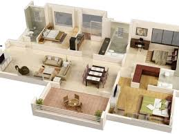 modern floor plans for homes stylish modern home 3d floor plans