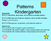 patterns in kindergarten smart exchange usa search lessons by keyword