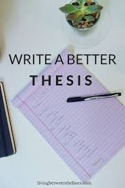 writing a thesis paper best 25 writing papers ideas on pinterest write my paper high how to write a better thesis