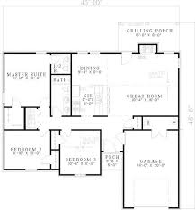 Simple Ranch House Floor Plans | beautiful simple ranch house floor plans new home plans design