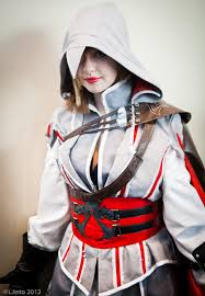 Assassin Creed Halloween Costume Female Ezio Cosplay Assassins Creed Halloween 2015