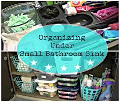 Under Kitchen Sink Storage by Bathroom Inspiring Under Bathroom Sink Storage Ideas Under