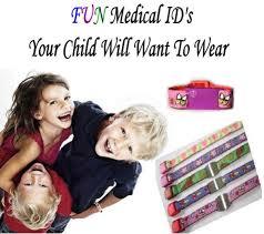 medical id bracelets for women medical id alert kids children toddlers adults medical id alert