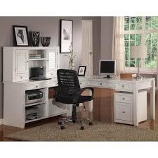 Computer Corner Desk With Hutch by Furniture L Shaped White Computer Corner Desk With Hutch And