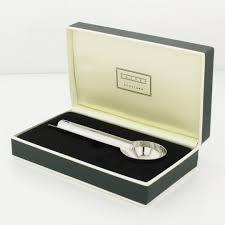 Silver Desk Accessories by Gheri Gherardi Showroom