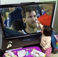 Little Girl Memes - little girl wiping away lionel messi s tears soccer memes goal91