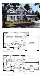 h house plans 4 bedroom colonial house plans luxihome
