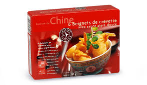 cuisine crevette 6 beignets de crevette surgelés cuisine évasion picard