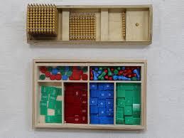 montessori math stamp game