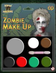 Mickey Mouse Makeup For Halloween by Halloween Face Paint Make Up Kit Palette Fancy Dress Zombie Devil