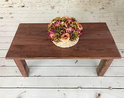 Modern Walnut Coffee Table Walnut Coffee Table Etsy