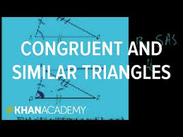 ca geometry more on congruent and similar triangles video