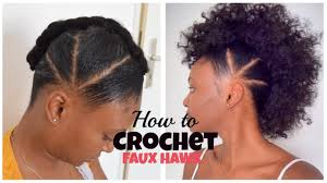 how to crochet faux hawk with overthetophaircollection youtube